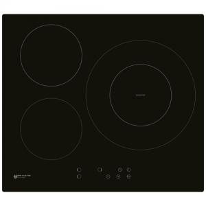 Placa de inducción Cristal Negro 60cm EAS ELECTRIC